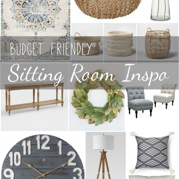 Budget Friendly Sitting Room Inspo