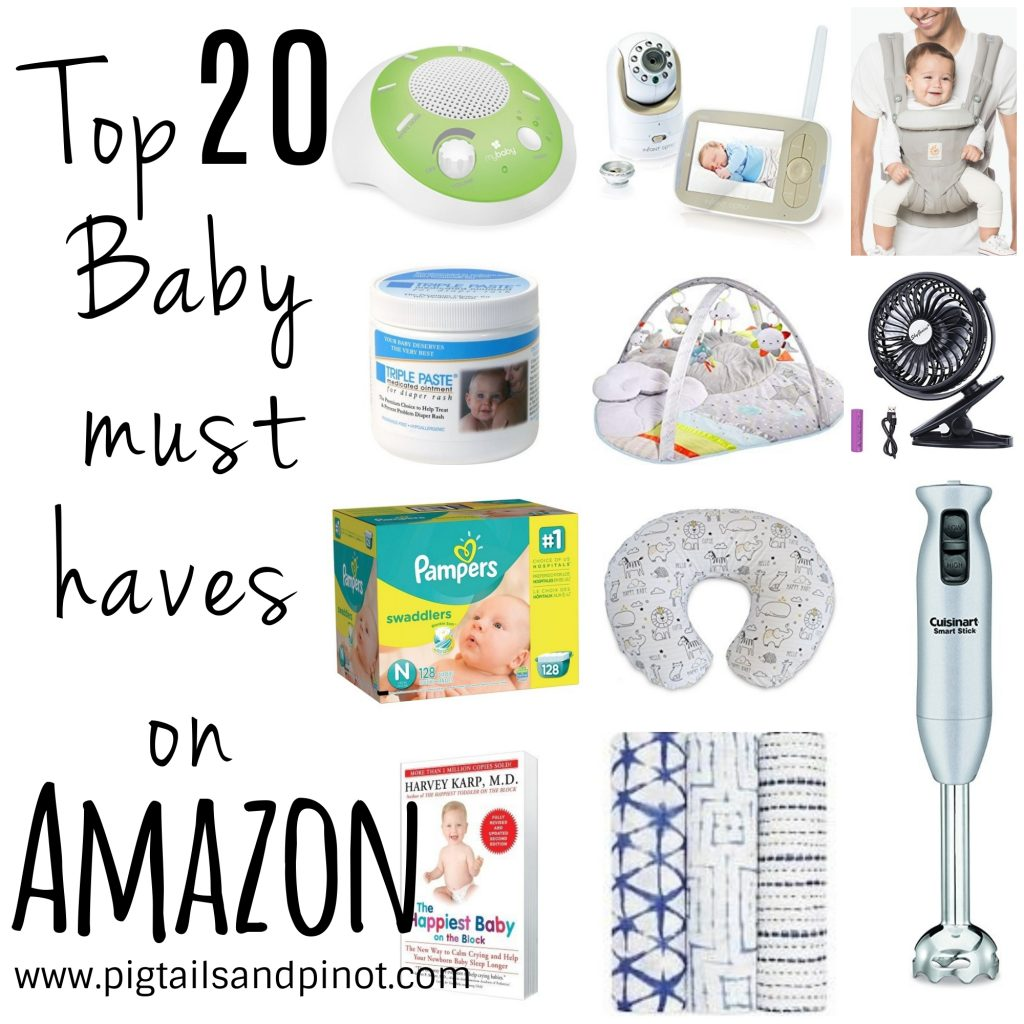 My Top 20 Baby Items on Amazon