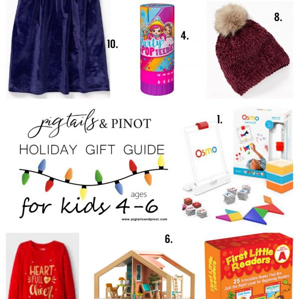 Holiday Gift Guide | Kids Ages 4-6