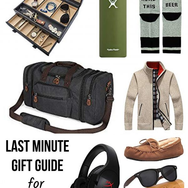 Last Minute Amazon Gift Guide for Him